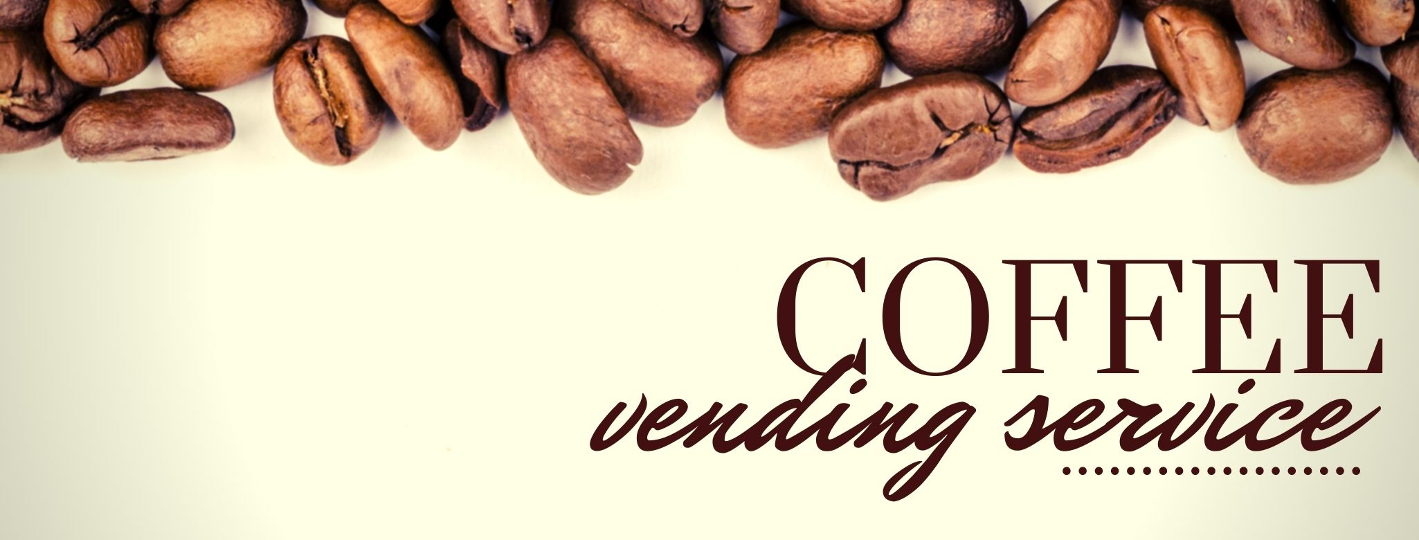 Coffee vending services